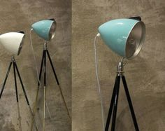 Vintage Tripod Floor and Table Lamps