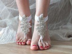 +rhinestone+barefoot,+bridal+anklet,+Beach+wedding+von+bridal+accessories+auf+DaWanda.com