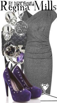 Disneybound Regina Mills outfit