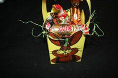 Panier de Pâques lapin - Activité manuelle et bricolage pour enfant
