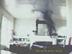 Brea writes, this photo of a shadow being was taken by a computer camera. The person whose home it was had some anomalous things going on and often felt that an unseen being was lurking. She left her computer web camera on for a few hours, recording the room, then went back and looked through the frames. This is what showed up on only two of them. Is this the first true photo of a shadow person? Shadow people are