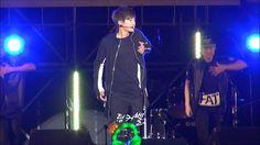 140927 김현중 Aomori Shock On 공연중 Break Down