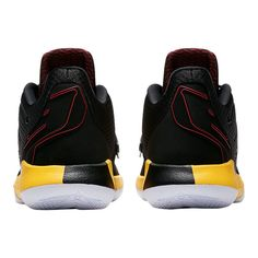 premium selection 4699b ca6c5 Nike Men s Jordan CP3.IX Basketball Shoes - Black Red Yellow