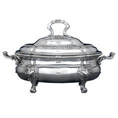 Important Paul de Lamerie Silver Soup Tureen | From a unique collection of…