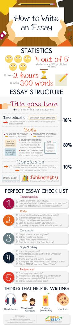 Infographics: How to Write an Essay (Infographic)