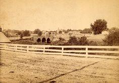 Division Street bridge in Dover, Delaware.  ca. 1880-1890.  9015-005-001 #6.  Jansen Collection.  Delaware Public Archives.  www.archives.delaware.gov