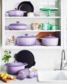 Le Creuset New Provence Purple Color February 2018