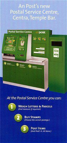 IRELAND ATMs. 2008, the pilot scheme with the Wincor Nixdorf postal kiosks