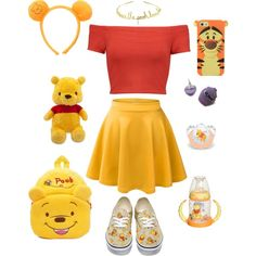 Disney Bound Outfits Casual, Cute Disney Outfits, Disney Themed Outfits, Disneyland Outfits, Cute Casual Outfits, Ddlg Outfits, Teen Fashion Outfits, Girl Outfits, Cute Group Halloween Costumes