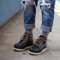 a5560344760 77 Best Boots&Shoes images in 2019 | Boots, Red wing moc toe, Red ...