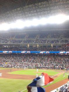 Marlins stadium! !!!! USA vs. Dominicans