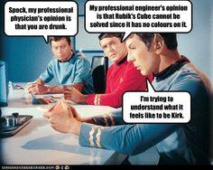 Star Trek Tv Series, Star Trek Original Series, Spock And Kirk, Yoda Funny, Star Wars, Star Trek Universe, Im Trying, Star Trek Humor, Science Fiction
