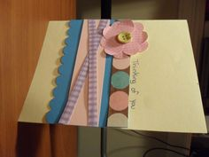 Homemade thinking of you card