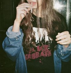 Black Sabbath Band Tee + Denim Jacket