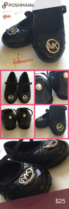 Just InMichael Kors Baby Girl Black Shoes Authentic Preloved in great conditions, my daughter used maybe 2-3 times max. Diamond cushion design and silver color MK logo. Elastic strap on top, to fasten the shoes. ‼️Bundle & Save‼️ Make offers on Bundles‼️Thanks! MICHAEL Michael Kors Shoes Dress Shoes