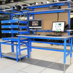 Formaspace Laboratory Furniture can help you organize your work space for maximum productivity — just give us the specifics and we can design. Time Design, Design Lab, Can Design, Industrial Workbench, Industrial Furniture, Rack Solutions, Mobile Workshop, Work Station Desk, Work Desk