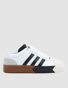 more photos f6d18 91ca1 Adidas x Alexander Wang  AW Skate Super Sneaker in White. Need Supply  CoAlexander ...