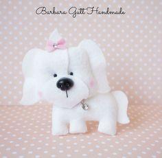 Barbara Handmade...: filcowy pies