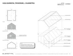 Galería - Casa ELEMENTAL Tecnopanel, una alternativa eficiente a la vivienda de emergencia - 4