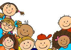 Happy children's day vector material 7