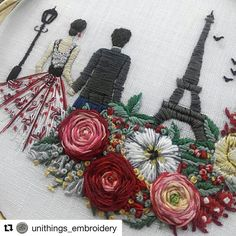 @unithings_embroidery #ricamo #embroidery #bordado #broderie #handembroidery #needlework