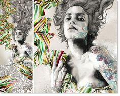 El nuevo Mucha? Artista español Gabriel Moreno.