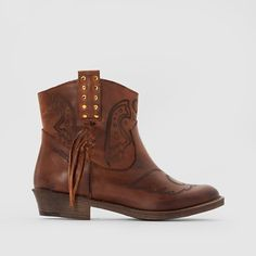 Coolway BANDOLERA Leather Ankle Boots