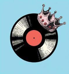 Vinyl is King. #records #vinyl #djculture #musicart http://www.pinterest.com/TheHitman14/dj-culture-vinyl-fantasy/
