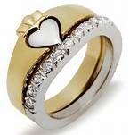 custom claddagh wedding ring - Bing Images