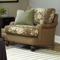 I Pinned This Luminare Arm Chair From The Paula Deen Event At Joss And  Main! I Like The Cushion A Coordinated Fabric.