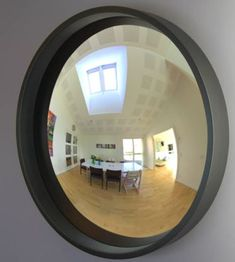 Reflecting Design offers a full line of decorative convex and round flat mirrors for residential and commercial interiors. Convex mirrors are our first love. Fireplace Mirror, Convex Mirror, Acrylic Mirror, Black Mirror, Frame Sizes, Round Mirrors, Commercial Interiors, Mantles, Architecture Design