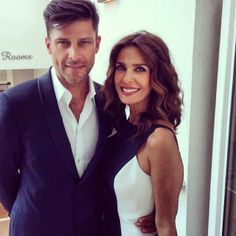 Greg Vaughan and Kristian Alfonso Kristian Alfonso, Greg Vaughan, Soap Opera Stars, A Day In Life, Days Of Our Lives, Sexy Men, How To Look Better, Handsome, Romance