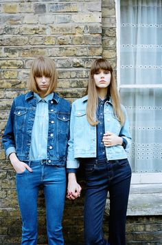 Learn how to mix your hues and artfully tackle the triple denim trend by blending deep indigos, true blues and blissed-out bleaches.