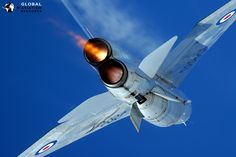 the English Electric Lightning, the only fighter to ever have the engines stacked on top of each other