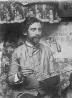 Bernard, young enthusiast Vincent struck up a friendship with Émile Bernard, fifteen years his junior, at Tanguy's shop in the autumn of 1886. They had met earlier at Cormon's studio. They worked together from time to time in Bernard's parents' garden in Asnières, where there was a small wooden studio. A lively correspondence developed between the two after Vincent left Paris in 1888.   Émile Bernard (1868-1941), c. 1887