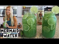 Mermaid Water Cocktail - TipsyBartender.com