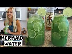 Mermaid Water Cocktail - TipsyBartender.com