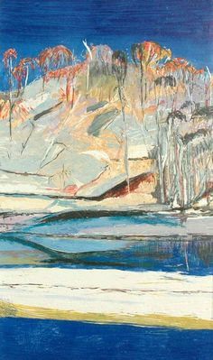 """Sandbank, Shoalhaven River II"" by Arthur Boyd"