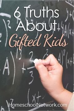 6 Truths About Gifted Kids   @iHomeschoolNet   #ihsnet