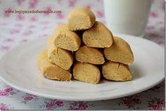 Ghraiba lablabi (Montecaos à la farine de pois chiches) - Les Joyaux de Sherazade