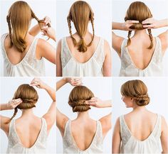 Peinados para bodas fáciles paso a paso