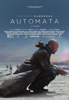 Antonio Banderas' New Movie 'Automata (2014)' Release Details
