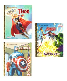 Take a look at this The Avengers Hardcover Set by Little Golden Books on #zulily today!