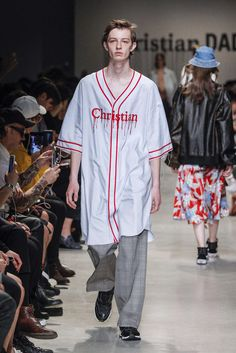 Christian Dada, Spring-Summer 2018, Paris, Menswear