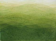 watercolour texture green