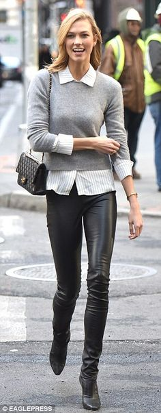 Karlie Kloss in NYC - Courtesy of dailymail.co.uk