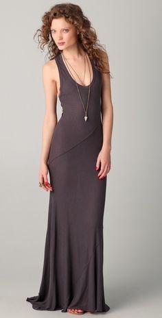Enza Costa Silk Rib Twist Dress - StyleSays