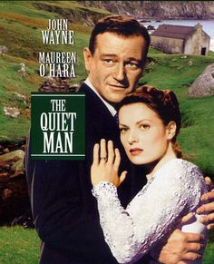 It's one of my favorite movies, ever. Especially the part where John Wayne drags Maureen O'Hara back from the train station.Where oh where did all the men like John Wayne go. The Quiet Man Movie, Love Movie, Movie Tv, John Wayne Movies, Maureen O'hara, Movies Worth Watching, Man Movies, Irish Movies, Ireland