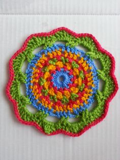Ravelry: Project Gallery for Mandala 21 pattern by John Kelly.....Original pattern available at www.heishooked.blogspot.com