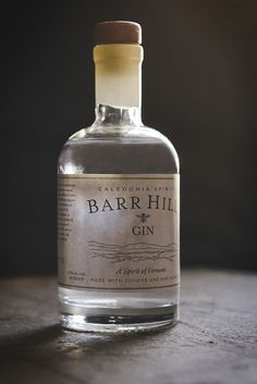 Caledonia Spirits Barr Hill Gin - a Vermont Gin perfect for cocktails year round. (by carey nershi, via Flickr)